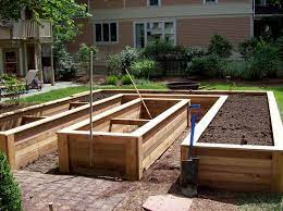 raised planter beds garden planter