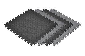 home norsk flooring norsk interlocking foam mats new solid color diamond plate 6 pack 1 2 foam mats