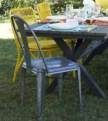 glass form furniture. furniture cool glass form near white plate on wooden table and mix outdoor dining n