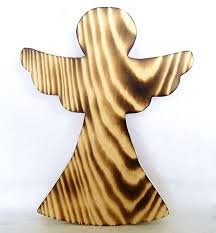 Baumspitze Engel Traditioneller Christbaumschmuck Holz