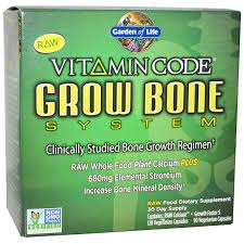 com garden of life vitamin code grow bone 2 pack 60 day supply health personal care