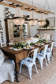 Best  Farmhouse Table Centerpieces Ideas On Pinterest - Rustic farmhouse dining room tables