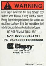 clopay garage door springsTorsion Springs for Clopay Ideal and Holmes Garage Door EZSet