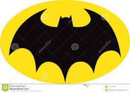 batman black bat insignia symbol of dc ics supehero character batman on yellow oval