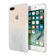 iphone 7 plus gold front. incipio silver sparkler design series glam iphone 7 plus case with gold - back/ iphone front