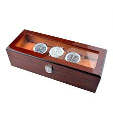 17 best ideas about watch display case watch box 5 piece rosewood wooden watch display case 5 grid watch box leather interior new