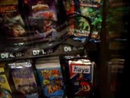 All Star Vending Machine New TRADING CARD VENDING MACHINEPART 48 YouTube