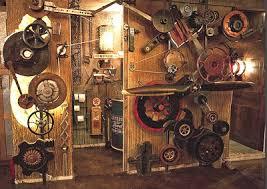 Steampunk decorating ideas - Victorian punk rock style creates the steampunk  theme - steam punk Industrial