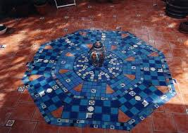 dycr mosaic patio edging sxjpgrendhgtvcom