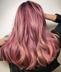 20 Rose Gold Hair Color Ideas