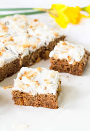 aip paleo carrot cake with whipped coconut frosting nut free too