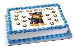 Paw Patrol Chase edible cake topper JPG grande v=