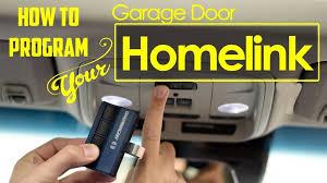 how to program garage door opener in car