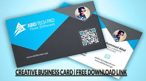 Download Free Professional Creative Business Card Psd Single