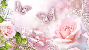Rose and Butterfly Wallpapers - Top ...