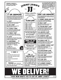 jimmy johns menu study guide.  Guide Menu Of Jimmy Johns  Fill Online Printable Fillable Blank  PDFfiller And Study Guide N