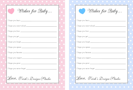 Wishes For Baby Template Photo Baby Shower Greeting Cards Image