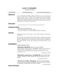 Vfx Resume Samples Best Resume Examples Visual Effects Artist Primeflightsdirtysecrets