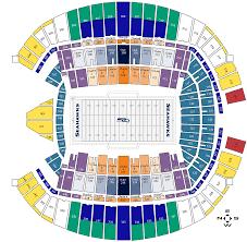 Rams Stadium Rams Stadium Map