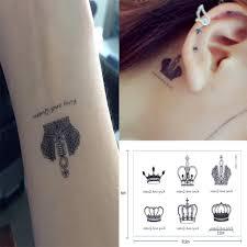 4 Pz Hennè Corpo Temporaneo Arte You Me Insieme Flash Tatuaggi