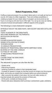 Sample Of 50th Birthday Party Program Sample Program Flow For 50th Birthday Party 2 Happy Birthday World