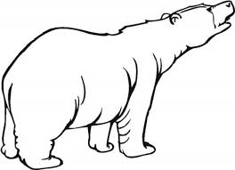 Small Picture Hungry Polar Bear Coloring Page NetArt