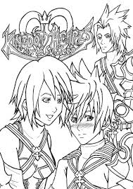 Small Picture Printable Kingdom Hearts Coloring Pages For Kids Free Coloring