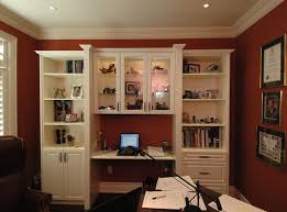 home office unit. Custom Home Office And Library Unit I