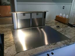 Bosch Downdraft vent with Remote Blower and transition Cook-N-Dine (Teppanyaki  Grill Cook Top)