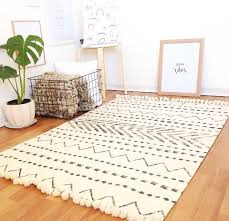 white and black rug awesome tribe interior design rugs decor home decorating ideas 22