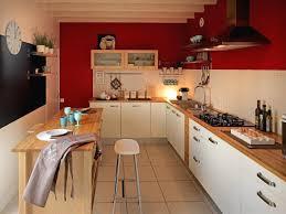 Meuble Cuisine En Bois 19g Nial Meuble Cuisine Rouge Avec Meuble