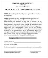Fitness Assessment Form Delectable Sample Physical Fitness Forms 48 Free Documents In PDF