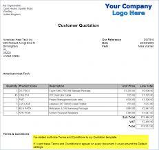 Template Quote Invoice Template Zafu Co Billing Software Quotation ...