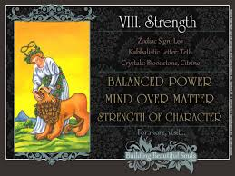strength tarot card meanings rider waite tarot deck