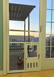 19 homemade dog door plans you can diy