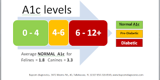 Normal A1c Chart Animal A1c Charts Dogs And Cats With Diabetes