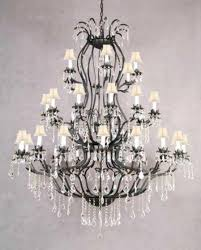 mesmerizing stunning iron chandelier with crystals large french wrought iron for iron and crystal chandelier