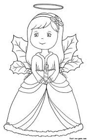 Small Picture Christmas Angel coloring pages 013 Christmas Coloring Pages