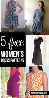Dress Patterns For Women Amazing 48 Completely Free Womens Dress Patterns