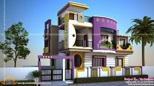Small Picture Exterior House Designs Story House Exterior Design On Indian 2