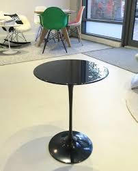 tulip coffee table saarinen side nero marquina marble couch potato company saarinen side table round nero