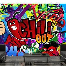 Fotobehang Chili Out Graffiti Karo Art Vof