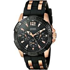 w0366g3 guess sporty black watch 41mm guess sporty w0366g3 men s watch black