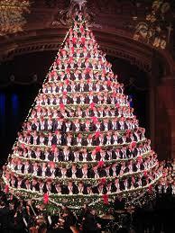 Photo via Singing Christmas Tree - Mona Shores Choir on Facebook