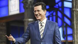 Dig Trump Colbert Russia ' In 'late At Stephen – To Show Takes Variety gn6aqWa