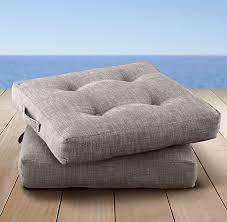 outdoor floor cushions. Perennials® Textured Linen Weave Outdoor Floor Cushions E
