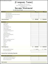 Statement Of Earnings Template Retained Earnings Statement Of Earning Example Correct Size