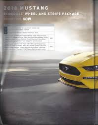 2018 ford order guide. fine ford 2018 mustang order guide  ford in ford order guide d