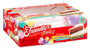 Celebration Ice Cream Cakes Friendlys