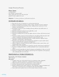 Sample Journeyman Electrician Resumes Journeyman Electrician Resume Sample